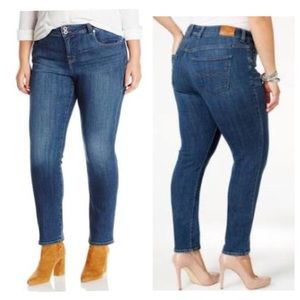 Lucky Brand Plus Size Emma Straight Jeans